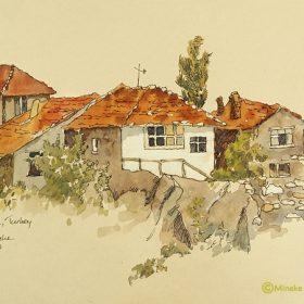 Ankara Houses on rocks