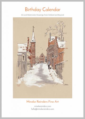 mineke reinders birthday calendar cover