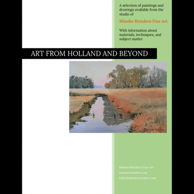 Mineke Reinders Available Art Catalog cover
