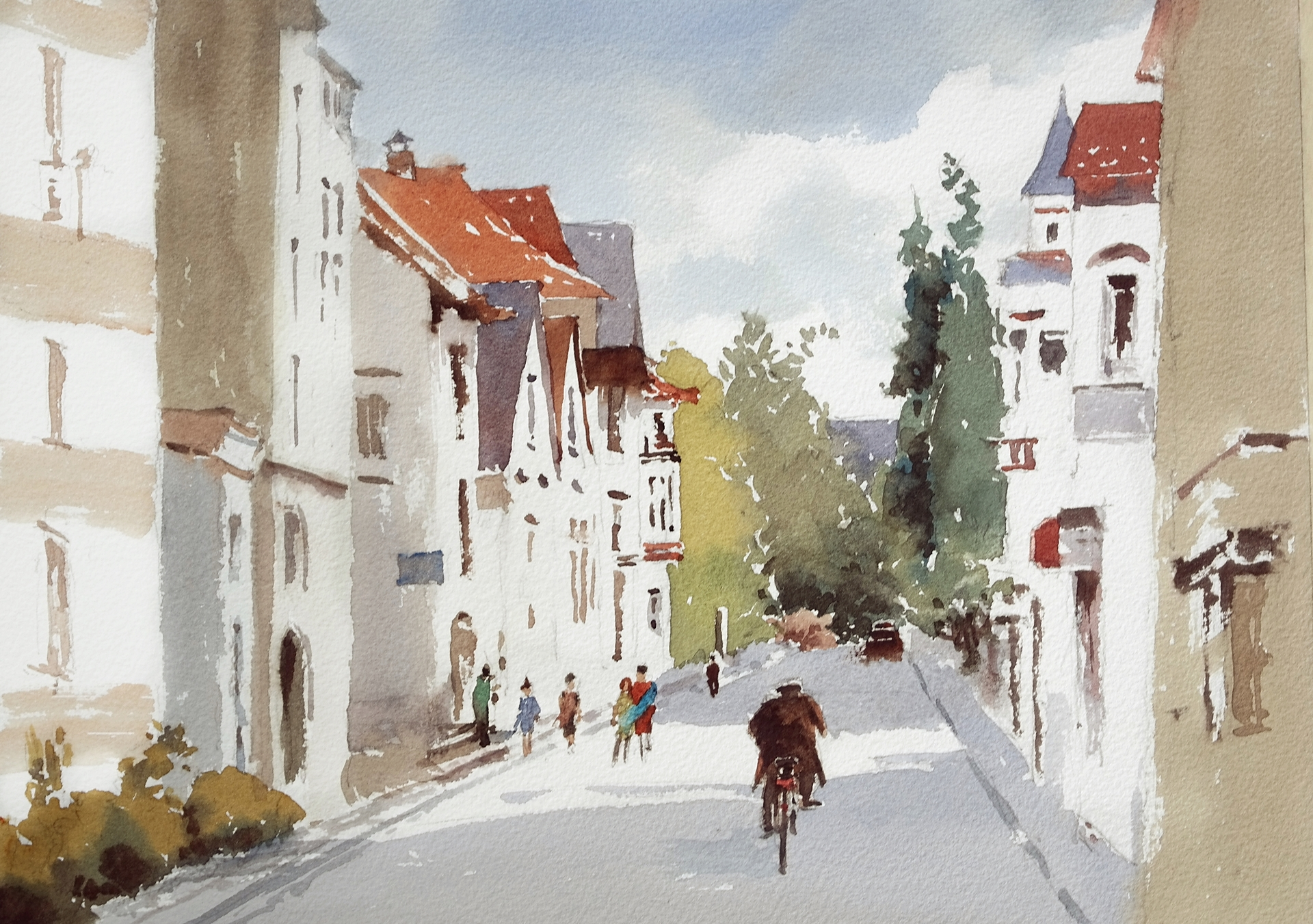 minekereinders.com watercolor first day of spring