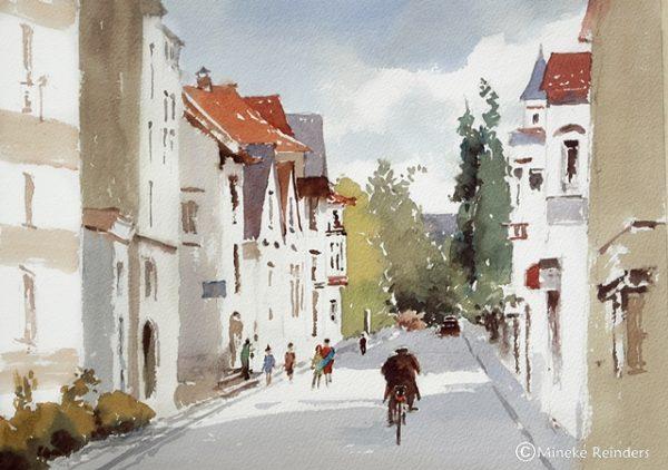 2018-060418-art-minekereinders-watercolor-Bielefeld-First-day-of-spring