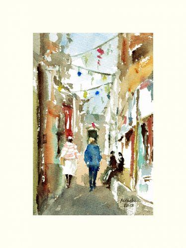2018-010618-art-minekereinders-small-watercolor-two-friends