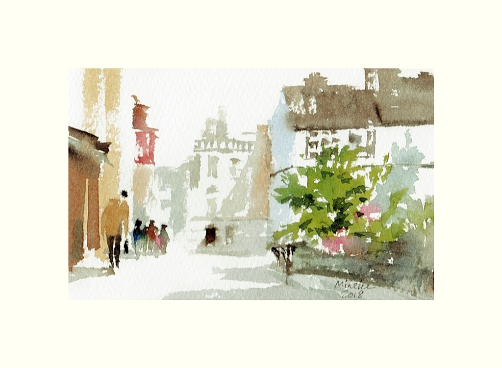 2018-030618-art-minekereinders-small-watercolor-summer in the city