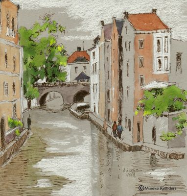 2018-070618-art-minekereinders-ink-watercolor-pencil-utrecht