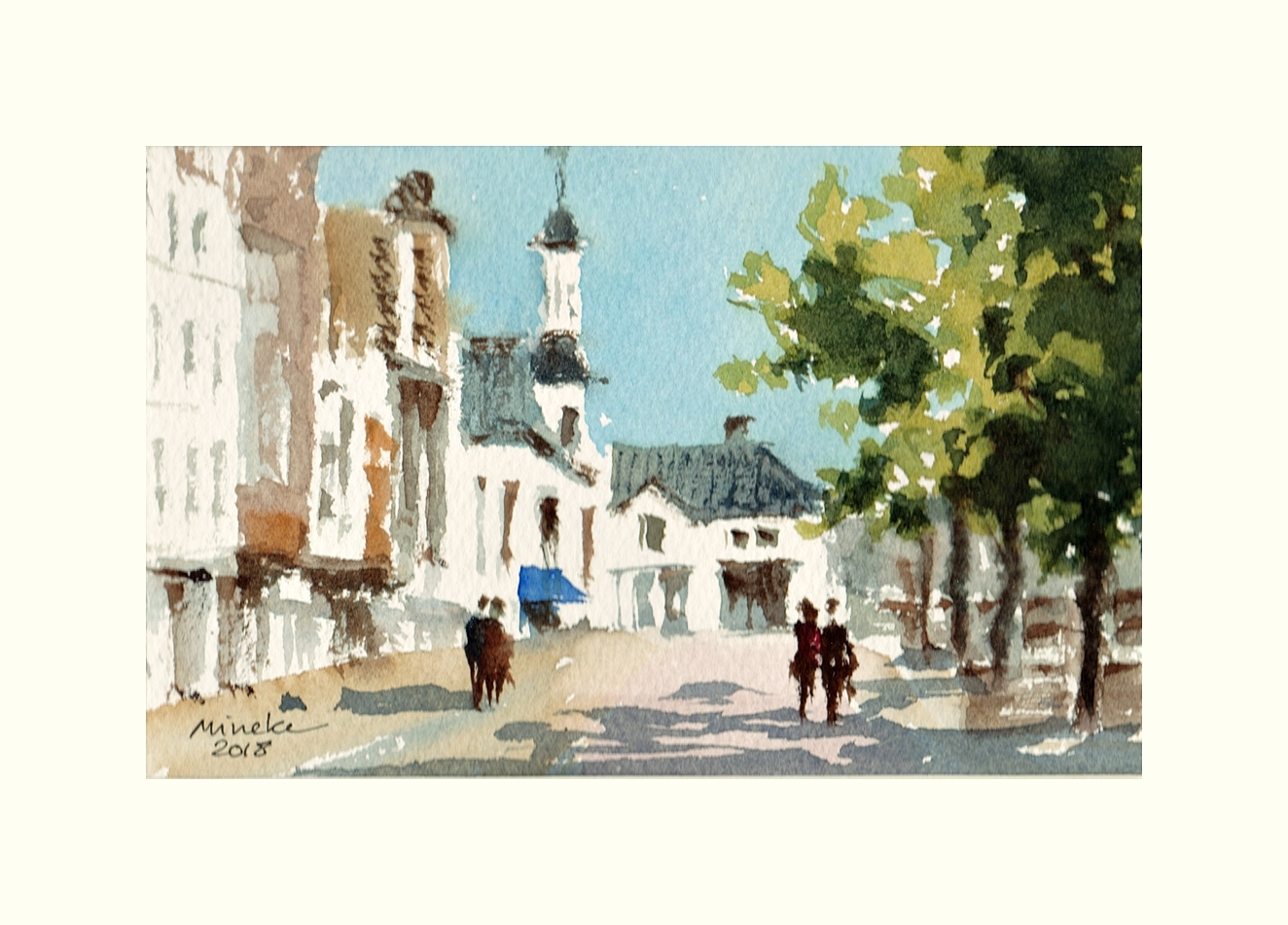 2018-080618-art-minekereinders-small-watercolor-blue-awning