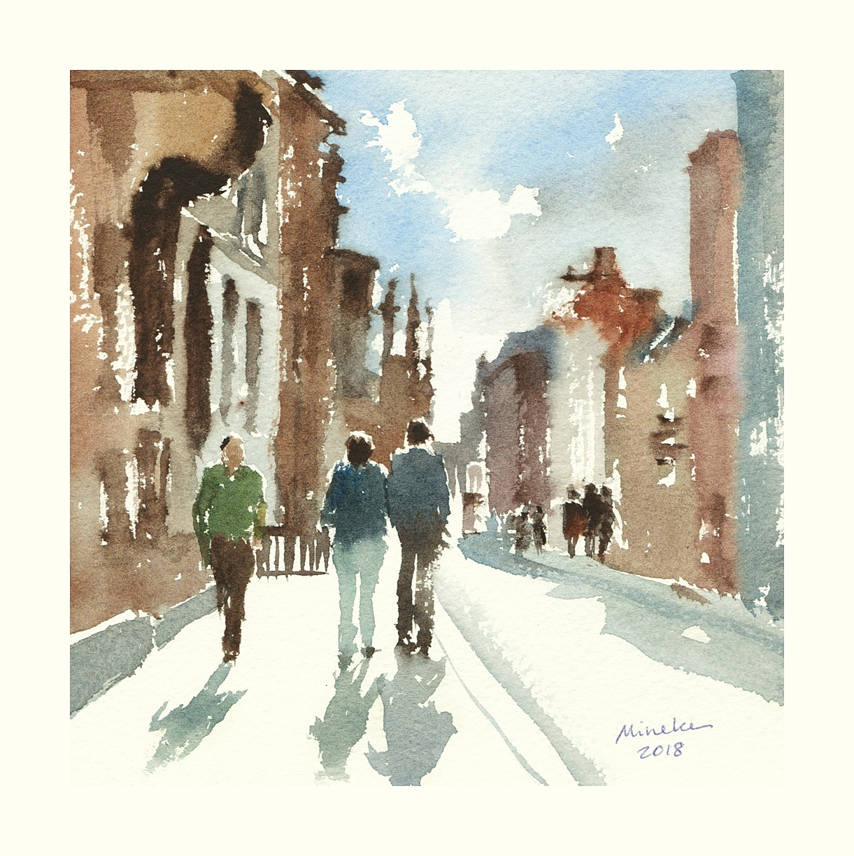 2018-130618-art-minekereinders-small-watercolor-passers-by
