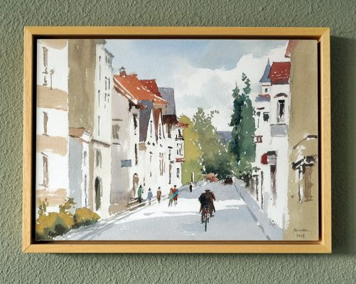 Framed watercolor 4