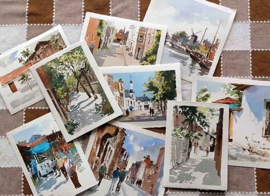 Small Watercolors Art Fair