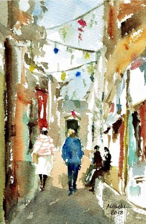 2018-010618-art-minekereinders-small-watercolor-best-friends
