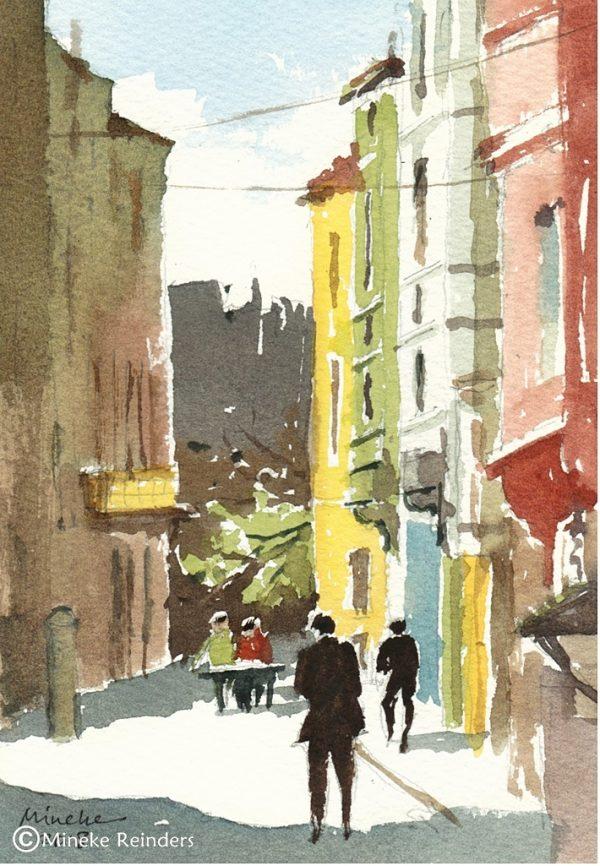 2018-140818-art-minekereinders-smallpainting-painted-ladies