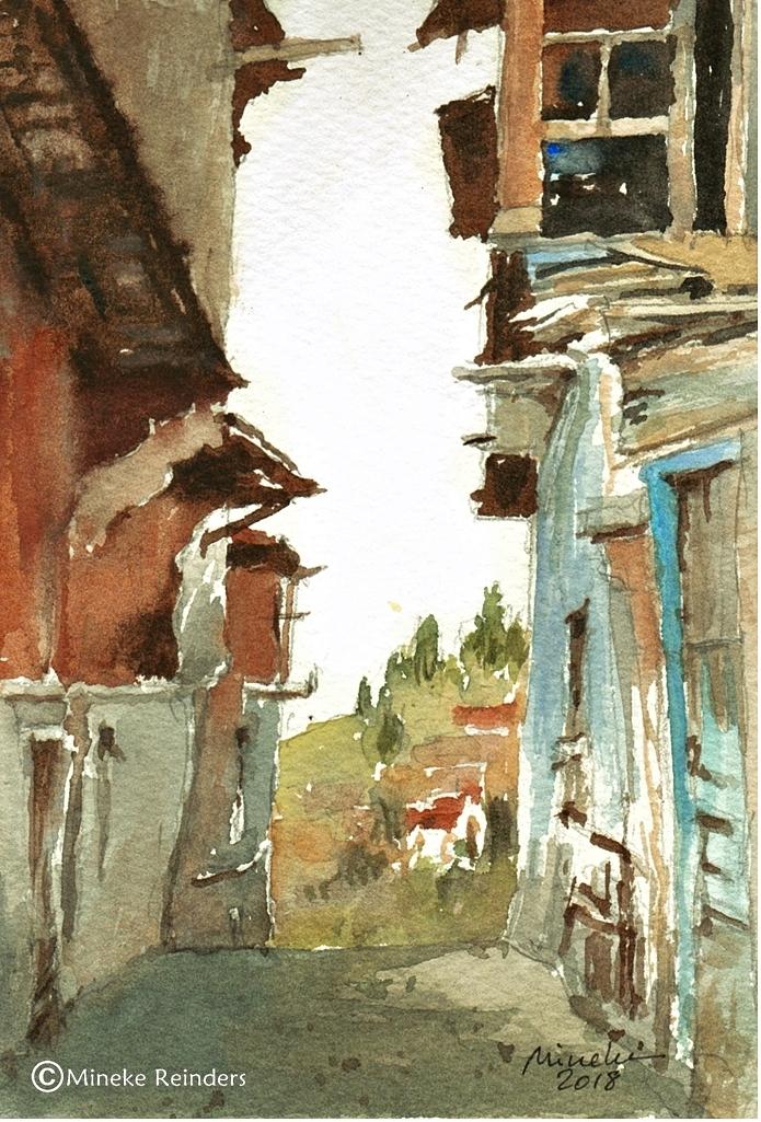 2018-150818-art-minekereinders-smallpainting-forgotten-alley