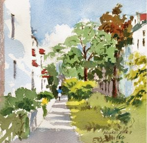 2018-280618-art-minekereinders-small-watercolor-garden-path