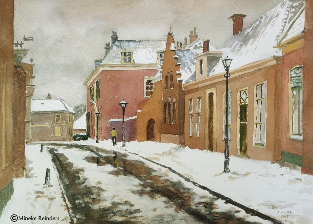 Snowy City - Mineke Reinders