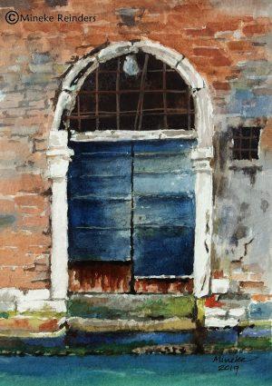 Mineke Reinders - Venetian Doorway