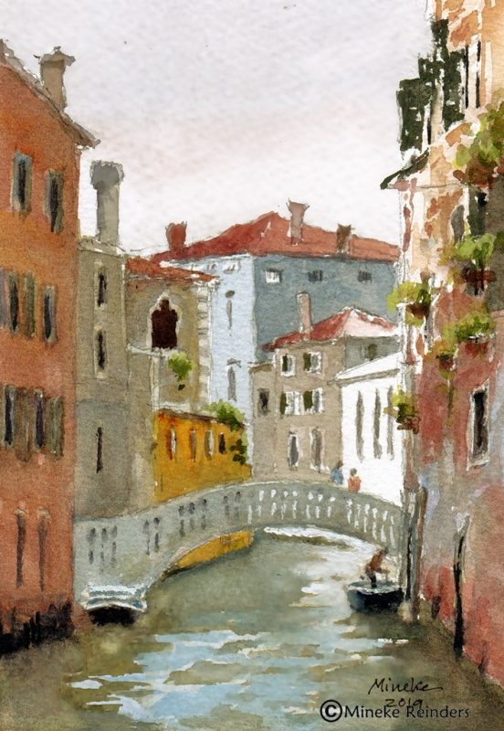 Mineke Reinders Canall in Venice