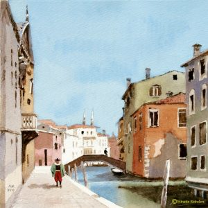 Mineke Reinders - Venetian Dreams: Summer, watercolor and gouache