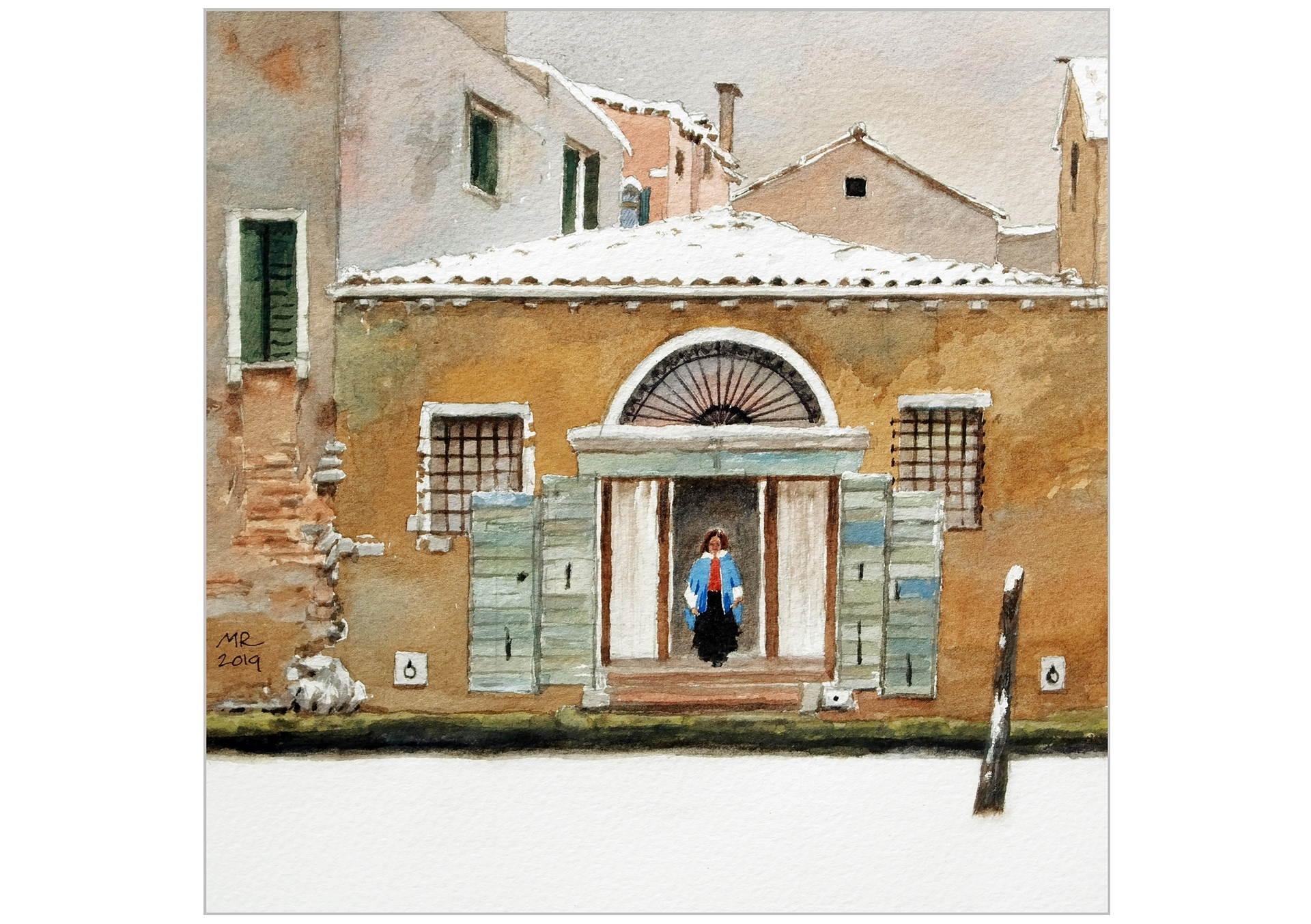 Mineke Reinders Watercolor Venice 2019