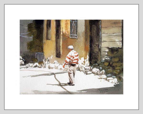 Izmir 10 Mineke Reinders Watercolor 2020