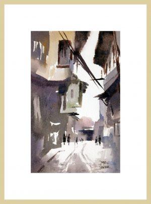 Citadel Memory Mineke Reinders Watercolor 2020