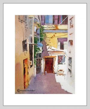 Izmir 1 Mineke Reinders Watercolor 2020
