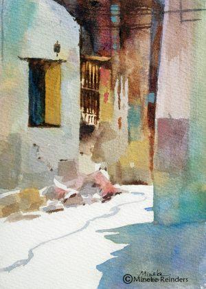 Izmir 2 Mineke Reinders Watercolor 2020