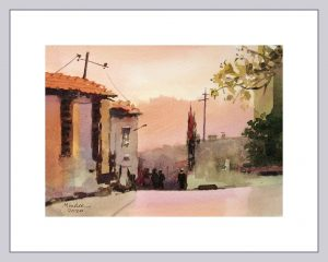 Ankara 3 Mineke Reinders Watercolor 2020