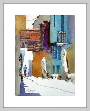 Izmir 4 Mineke Reinders Watercolor 2020