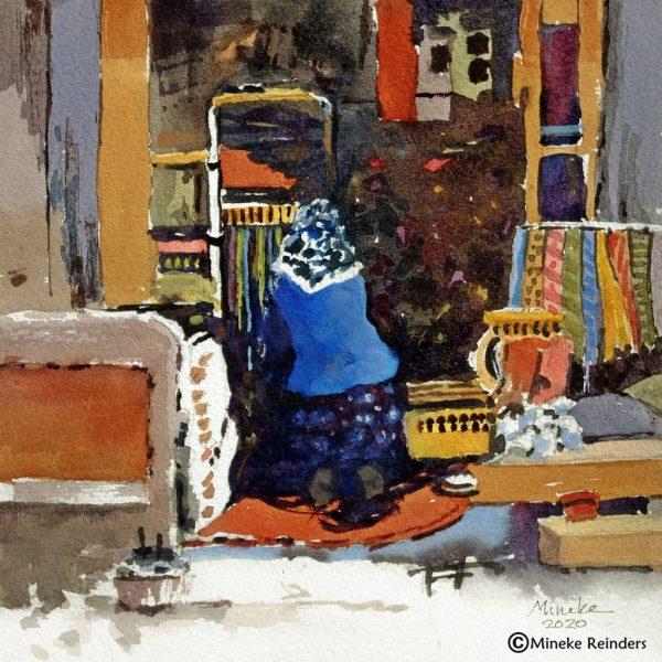 Ankara 6 Mineke Reinders Watercolor 2020