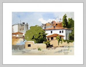 Ankara 8 Mineke Reinders Watercolor 2020