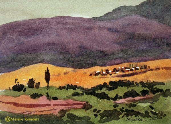 Ankara 10 Mineke Reinders Watercolor 2020