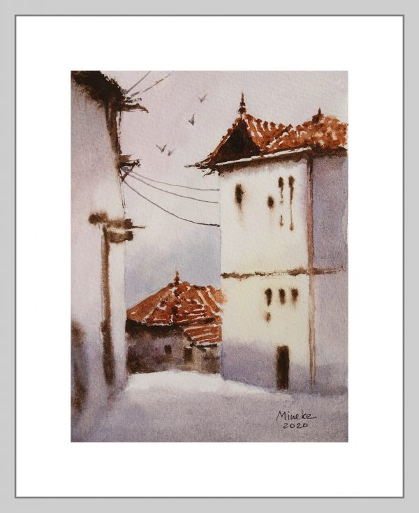 Ankara 9 Mineke Reinders Watercolor 2020