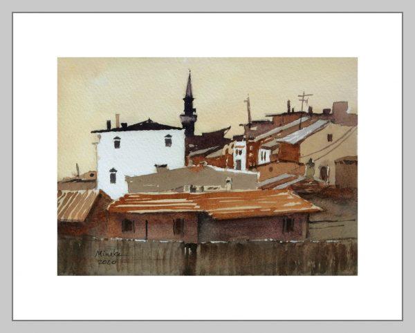 Ankara 15 Mineke Reinders Watercolor 2020