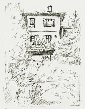 Safranbolu 1 Mineke Reinders Watercolor 2020