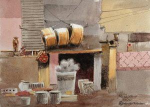Ankara 18 Mineke Reinders Watercolor 2020