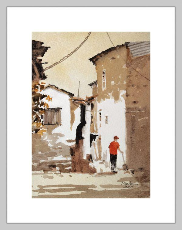 Ankara 19 Mineke Reinders Watercolor 2020