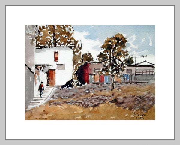 Ankara 20 Mineke Reinders Watercolor 2020