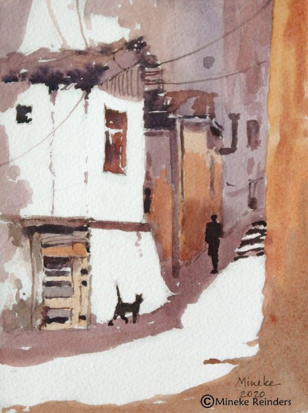 Ankara 21 Mineke Reinders Watercolor 2020