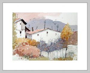 Ankara 22 Mineke Reinders Watercolor 2020