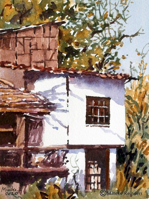 Ankara 26 Mineke Reinders Watercolor 2020