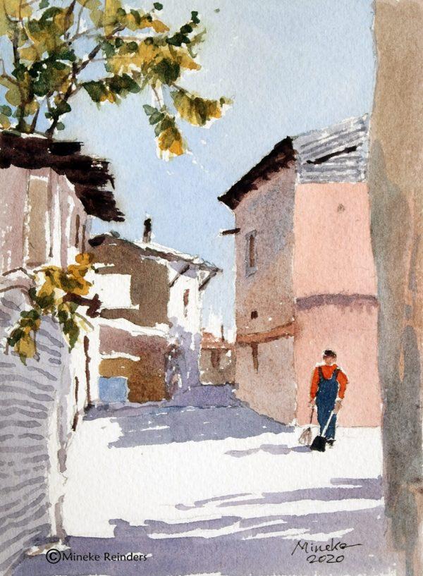 Ankara 27 Mineke Reinders Watercolor 2020