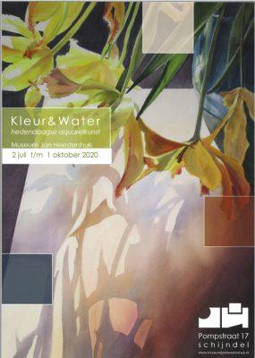 Kleur & Water Exhibition Announcement