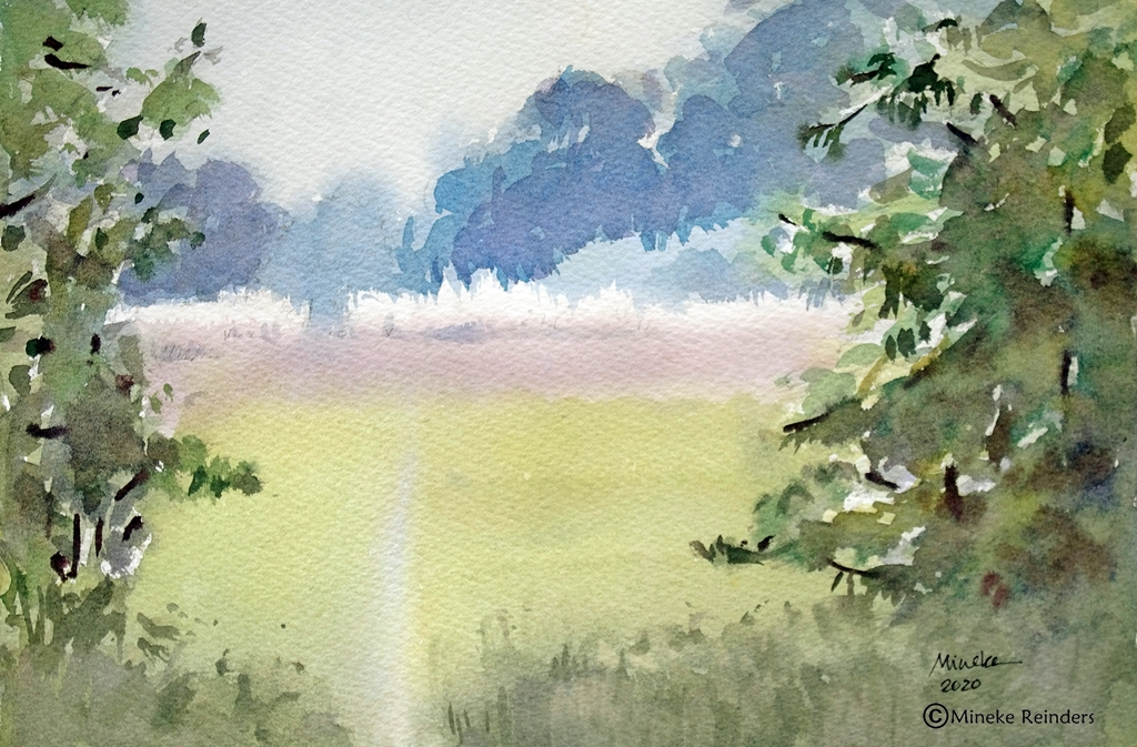 Closer-to-Home-Field-Mineke-Reinders-Watercolor-070820-2
