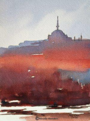 Istanbul Mood Mineke Reinders Watercolor 210820-3