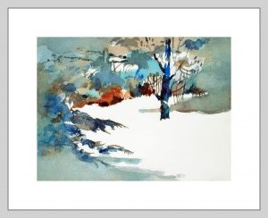 Winter World Mineke Reinders Watercolor 080820