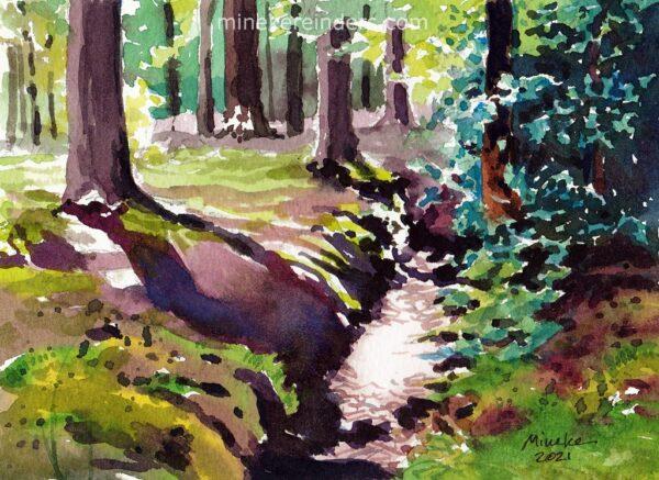 Woods 02-220421-minekereinders-watercolor