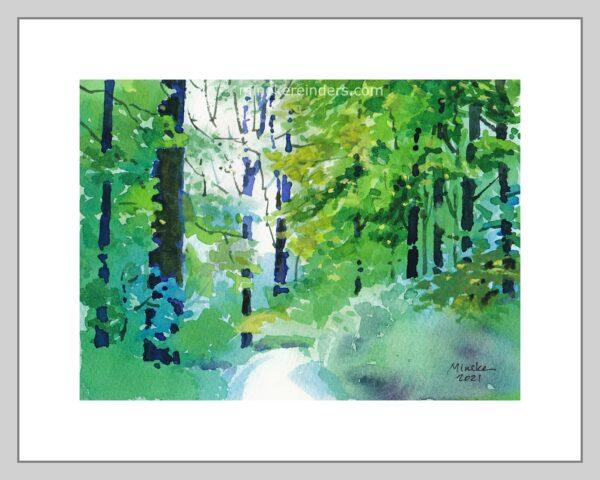 Woods 04-290421-minekereinders-watercolor-frame
