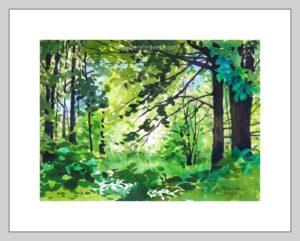 Woods 05-050521-minekereinders-watercolor-frame