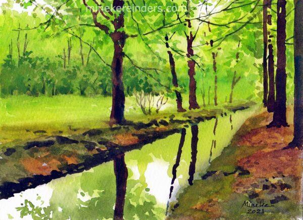 Woods 06-070521-minekereinders-watercolor