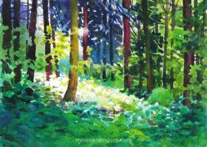 Woods 09-130521-minekereinders-watercolor