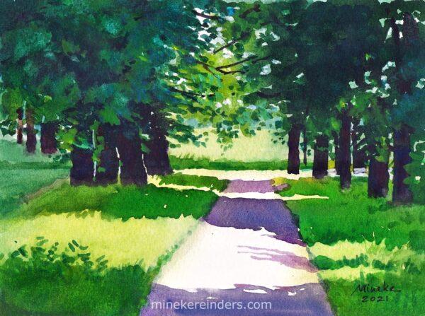 Woods 11-300521-minekereinders-watercolor
